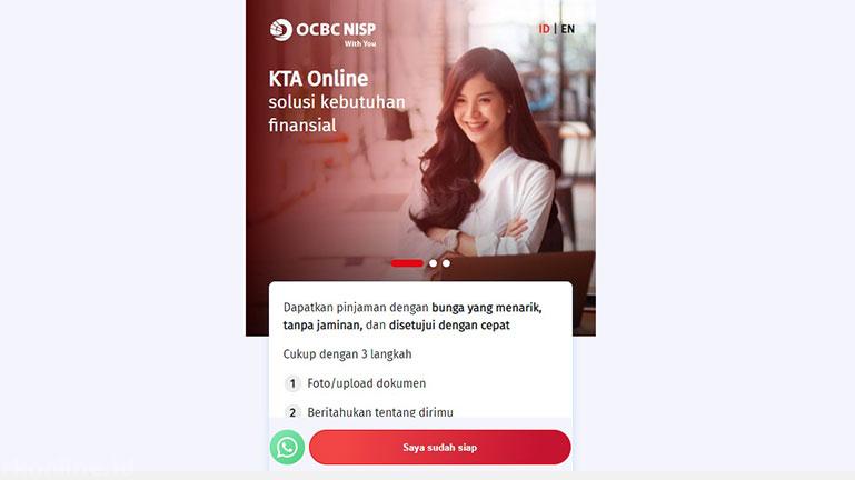Cara Pengajuan KTA Bank OCBC NISP 2021