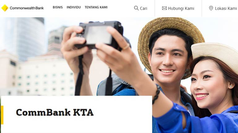 CommBank KTA Tanpa Kartu Kredit