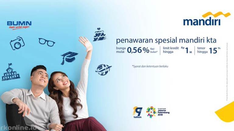 KTA Bank Mandiri