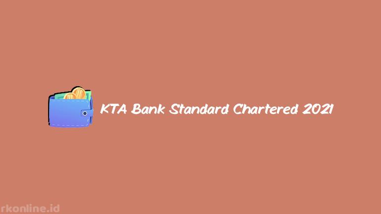 KTA Bank Standard Chartered 2021
