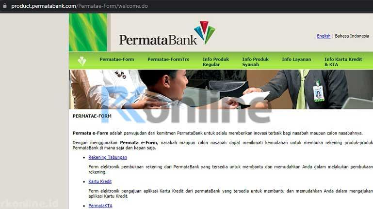 Kunjungi Situs E Form Bank Permata