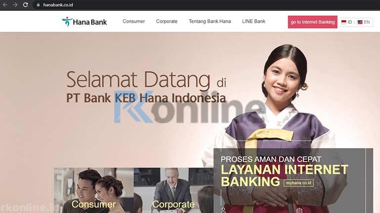 Kunjungi Situs Hana Bank