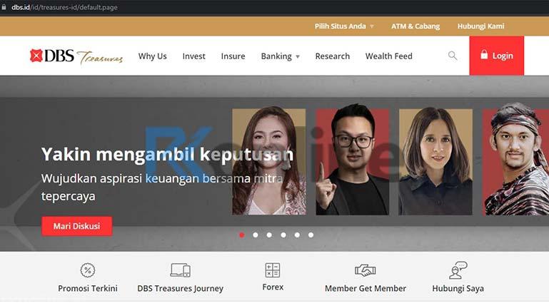 Kunjungi Situs Resmi Bank DBS