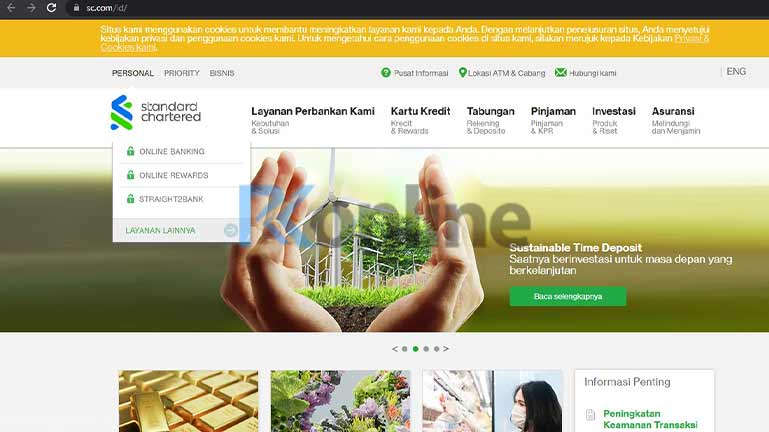 site Resmi Bank Standard Chartered