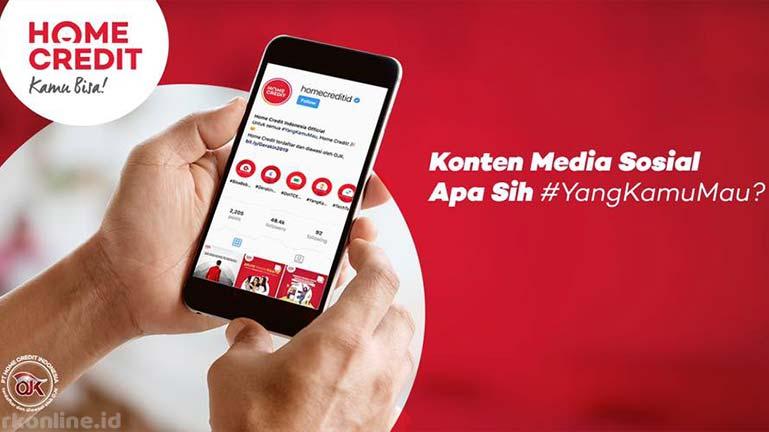 Lewat Media Sosial Home Credit