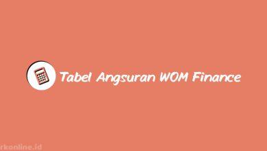 Tabel-Angsuran-WOM-Finance-&-Brosur-Pinjaman-Terbaru