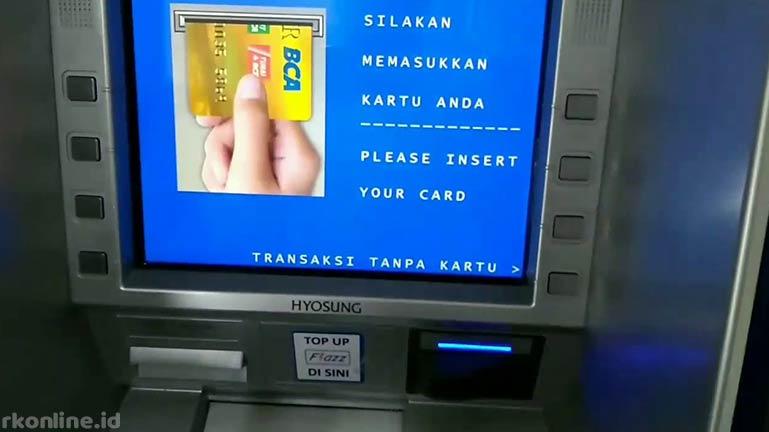 Transfer via ATM