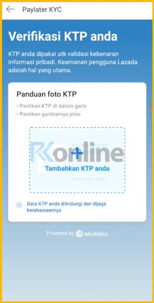 Upload Foto KTP